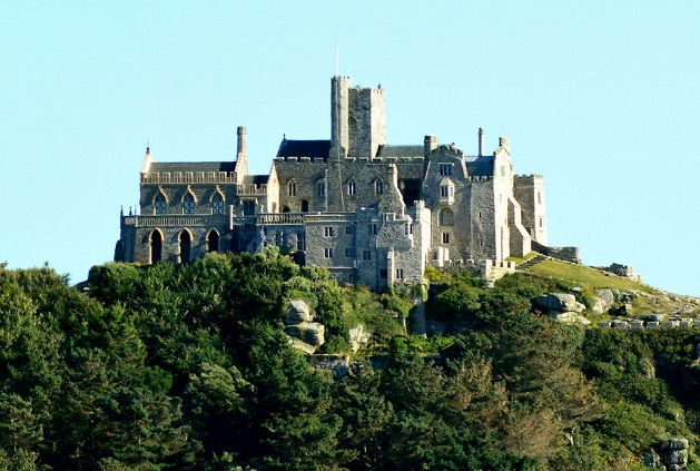 Top những lâu đài đẹp nhất Anh quốc