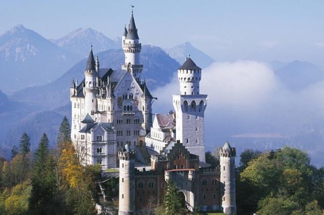 Khám phá những tòa lâu đài đẹp nhất nước Đức