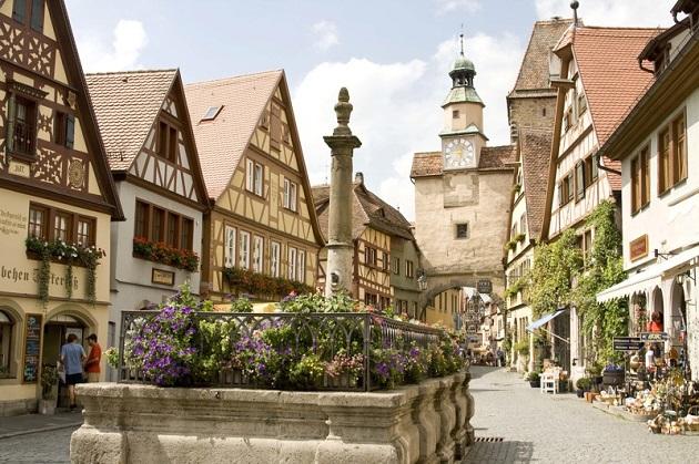 Du lịch Đức khám phá những thị trấn cổ xinh đẹp