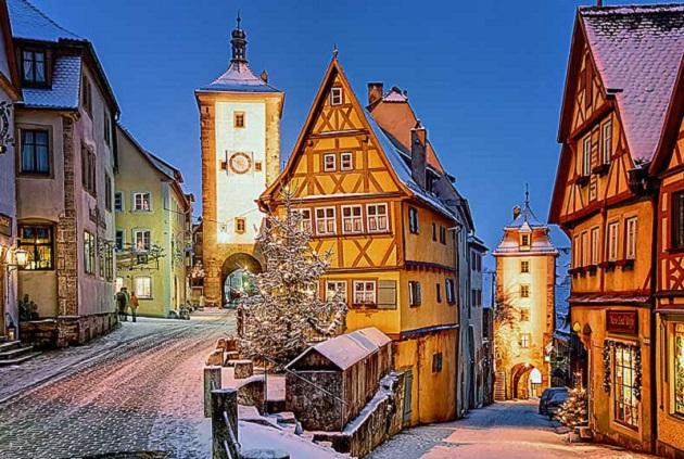 Những điểm đến quyến rũ bạn không nên bỏ lỡ khi du lịch Đức