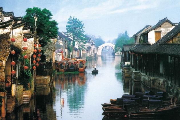 Top những thị trấn sông nước đẹp nhất Trung Quốc