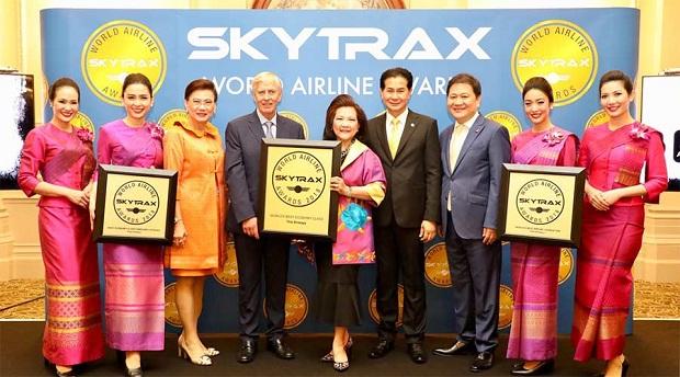 Thai Airways thắng Ba giải thưởng Skytrax năm 2018