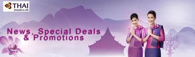Thai Airways tung vé khuyến mãi chặng bay quốc tế khởi hành từ Hà Nội chỉ 95 USD