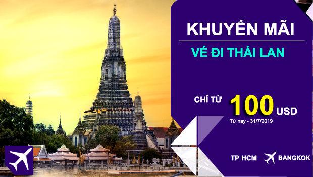 Tìm vé máy bay giá rẻ tháng 7/2019 - Thai Airways khuyến mãi bay Á, Âu từ 100 USD