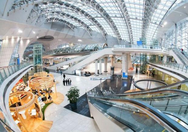 Lác mắt với thiết kế hoành tráng ở sân bay Hongkong