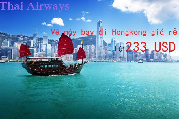 Săn ngay vé máy bay đi Hongkong giá rẻ Thai Airways chỉ từ 233 USD