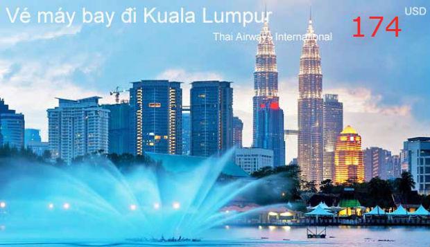 Giá vé máy bay đi Kuala Lumpur