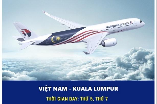 Vé máy bay từ Việt Nam đi Kuala Lumpur   Khởi hành ngay!