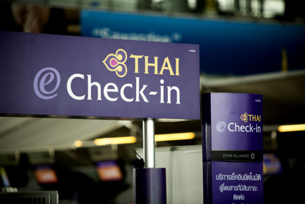 Check in Thai Airways
