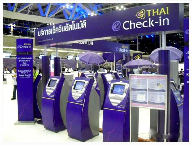 Check in tự động Thai Airways