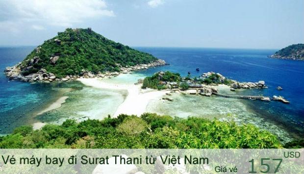 Vé máy bay đi Surat Thani