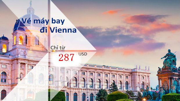 Vé máy bay đi Vienna