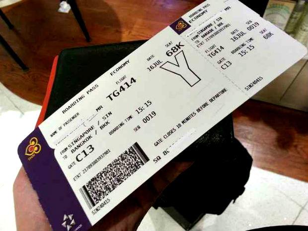 Đặt vé máy bay Thai Airways giá rẻ
