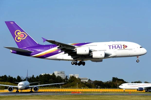 Phòng vé máy bay Thai Airways uy tín