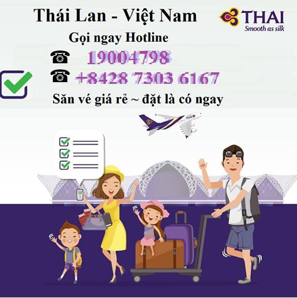 Bay từ Thái Lan về Việt Nam mất bao lâu