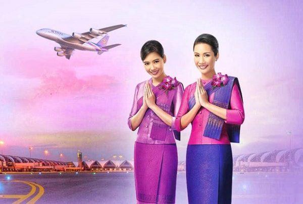san ve may bay gia re tai thai airwways
