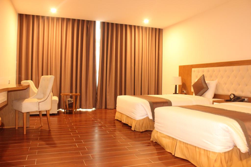 phòng deluxe twin Khách sạn Mường Thanh Cửa Đông