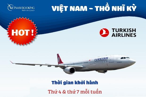 Vé máy bay từ Việt Nam đi Istanbul giá rẻ | Bay tháng 3