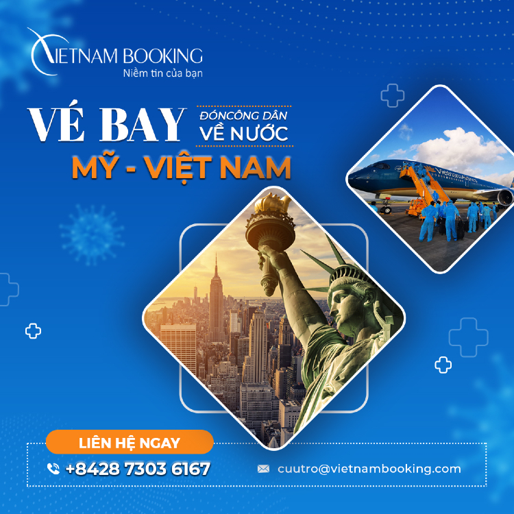 Vé máy bay từ Chicago về Sài Gòn giá rẻ, đã có lịch bay mới nhất