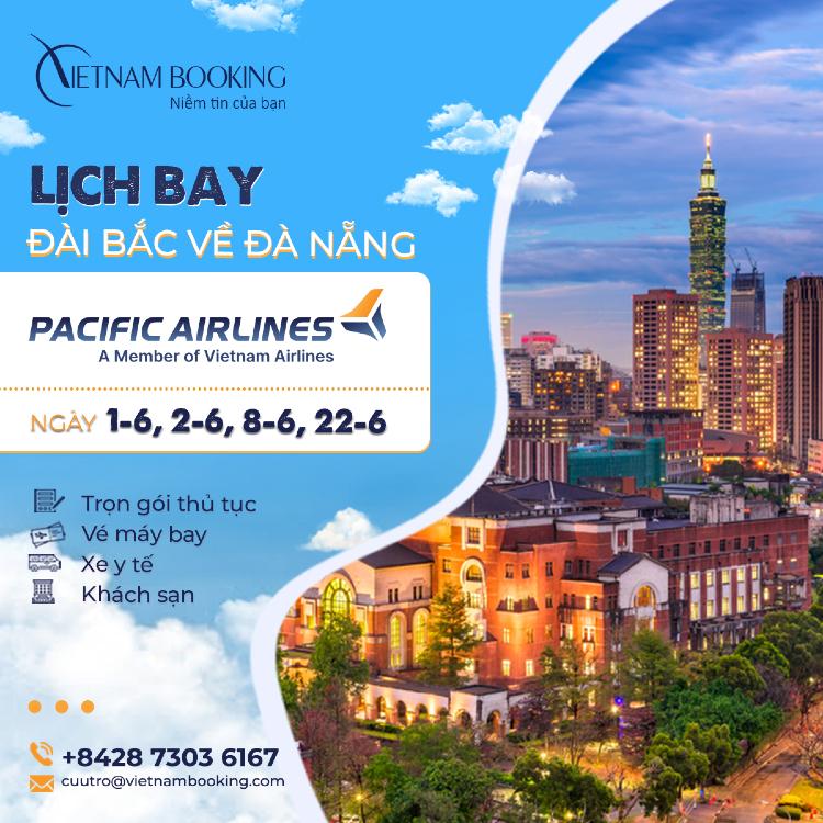 Vé máy bay từ Đài Bắc về Đà Nẵng giá rẻ | Lịch bay cập nhật hàng tháng
