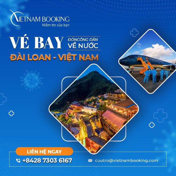 Vé máy bay từ Đài Bắc về Sài Gòn giá rẻ | Lịch bay hàng tháng mới nhất