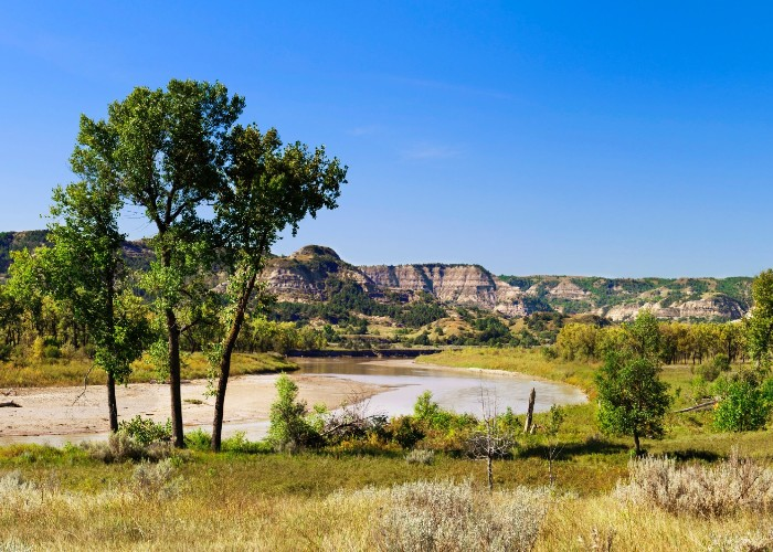 North Dakota sở hữu vẻ đẹp dịu dàng với khung cảnh miền quê nước Mỹ
